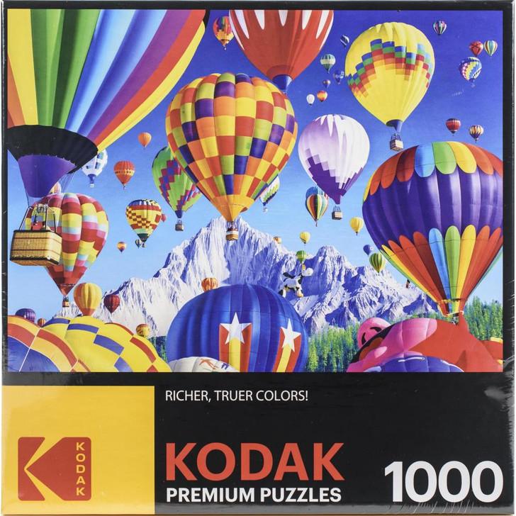 Kodak Balloons Over A Mountain 1000 Pc. Jigsaw Puzzle