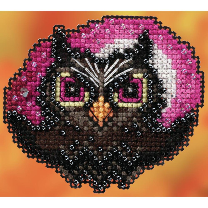 Mill Hill Counted Cross Stitch Magnet Kit - Moonlit Owl