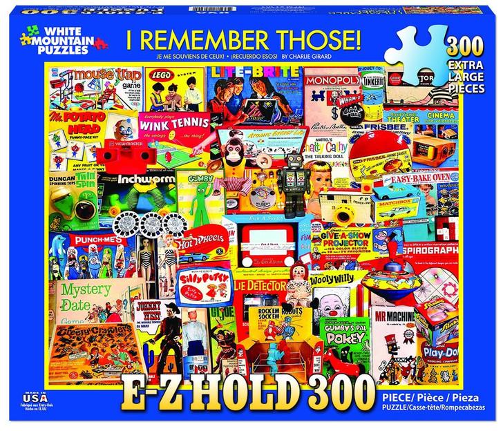 White Mountain 300 Pc. Jigsaw Puzzle - I Remember Those