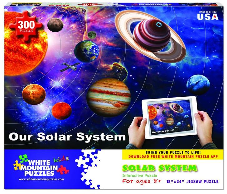 White Mountain 300 Pc. Jigsaw Puzzle - Solar System