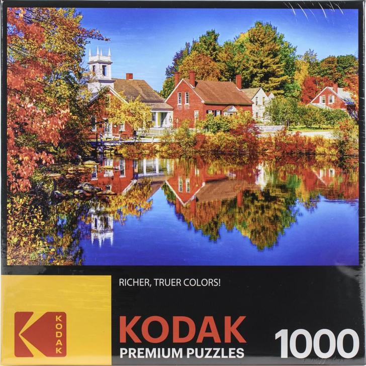 Kodak Autumn In Harrisville Nh. 1000 Pc. Jigsaw Puzzle