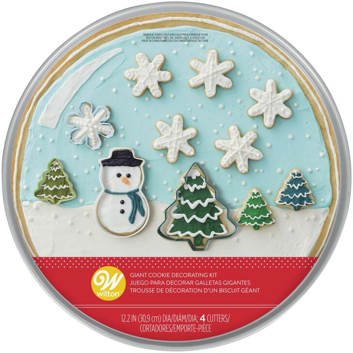 Wilton Snow Globe Cookie Pan Kit