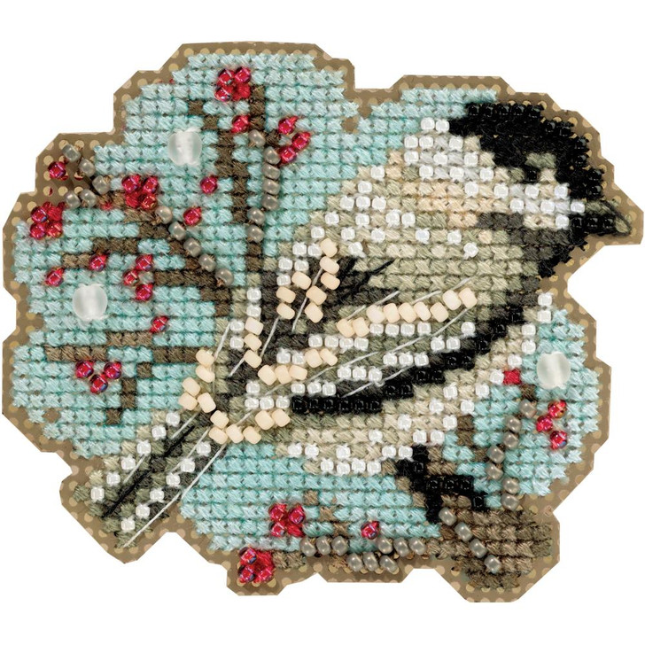 Mill Hill Little Chickadee Counted Cross Stitch Magnet Kit