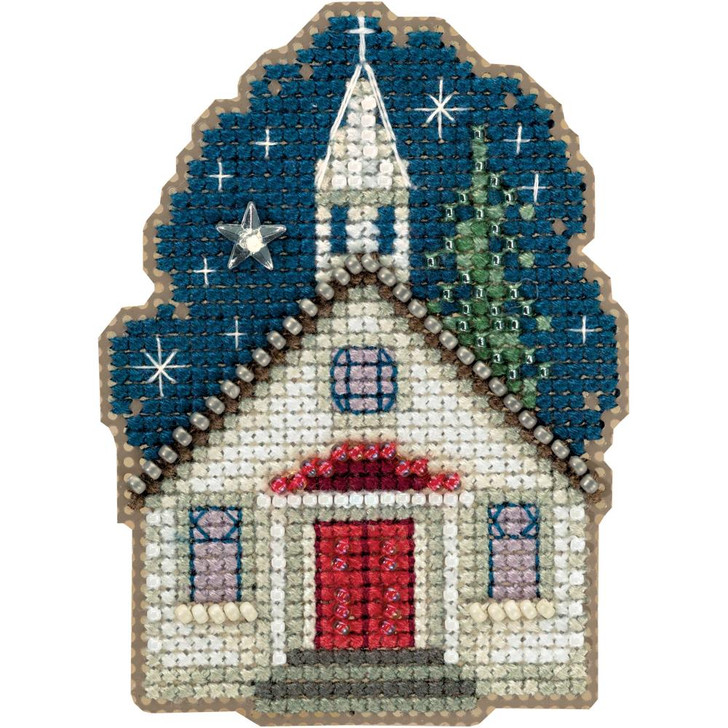 Mill Hill Sunday Night Counted Cross Stitch Magnet Kit