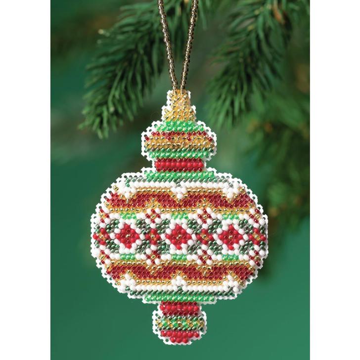 Mill Hill Ruby Diamond Counted Cross Stitch Ornament Kit