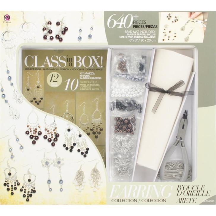 Cousin Silver Tone Earrings Jewelry Class In A Box Kit