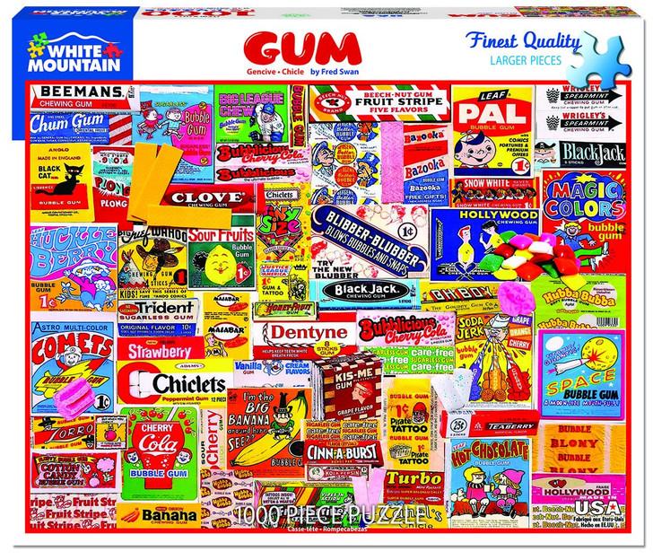 White Mountain Gum - 1000 Pc. Jigsaw Puzzle