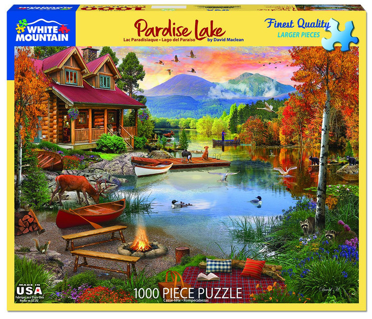 White Mountain Paradise Lake - 1000 Pc. Jigsaw Puzzle