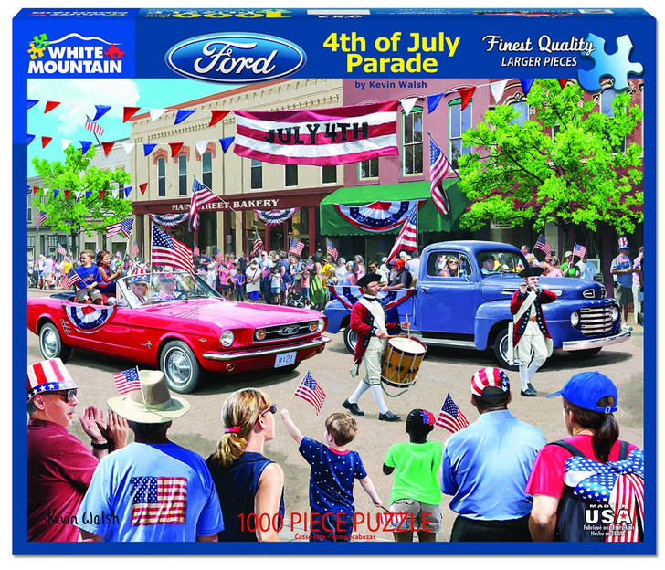 White Mountain 4th of July Parade - 1000 Pc. Jigsaw Puzzle