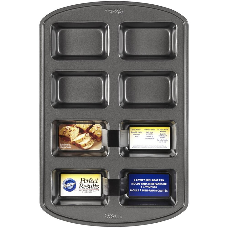 Wilton Perfect Results Mini Loaf Pan