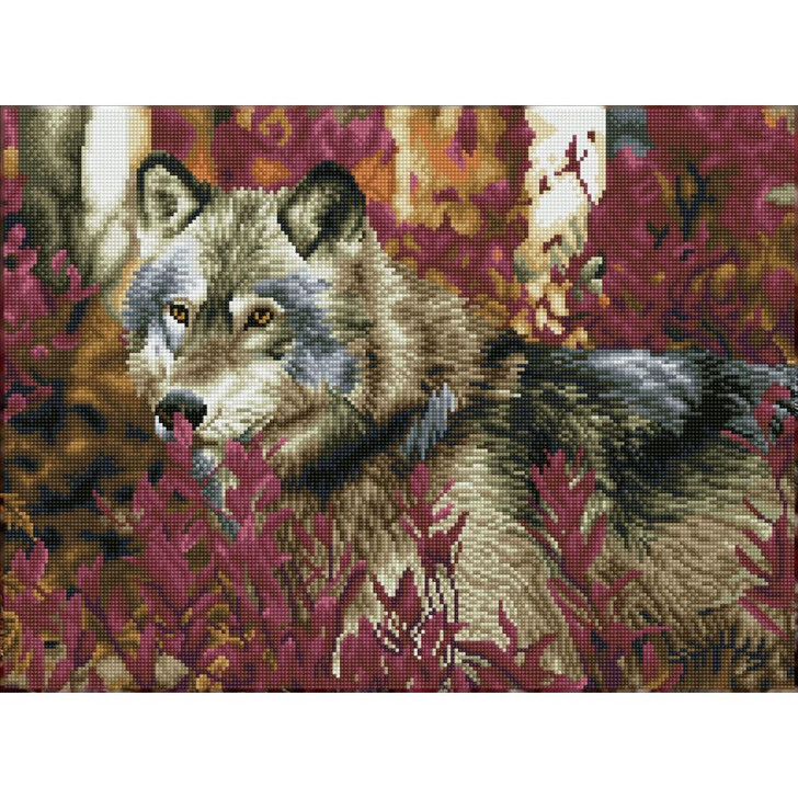 Diamond Dotz Autumn Wolf Facet Art Kit