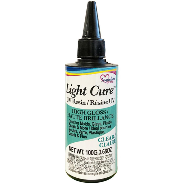 Signature Crafts Light Cure Resin Clear UV Resin 3.68oz