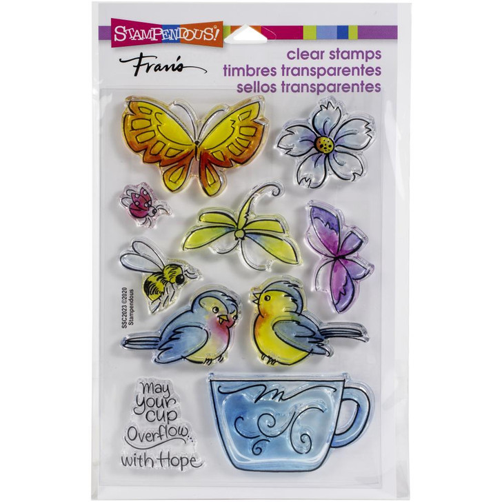 Stampendous Winged Cup Clear Stamps