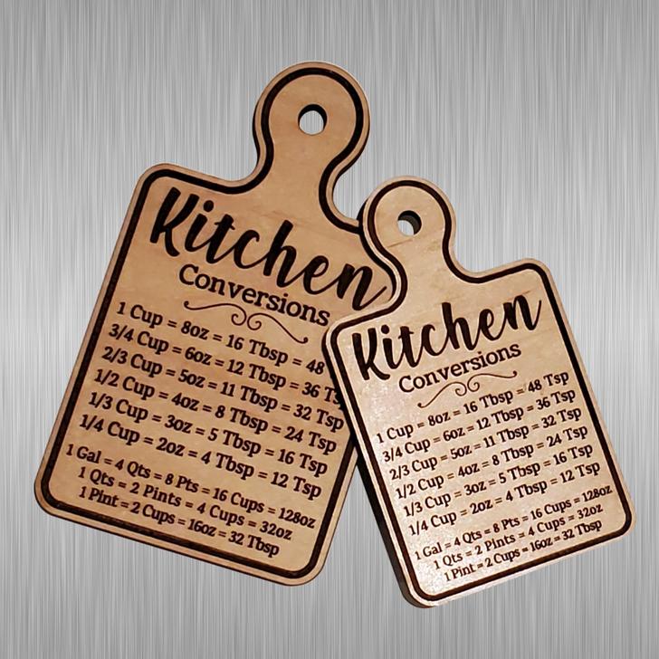 Kitchen Conversions Mini Cutting Board Magnet
