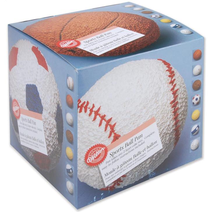 """Wilton Sports Ball 3D Cake Pan 6"""""""