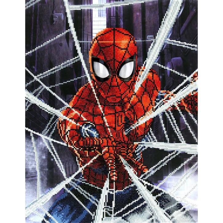 Camelot Dotz  Marvel Spiderman - Web-Slinger Diamond Facet Art Kit