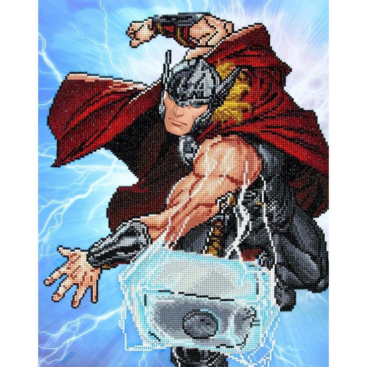 Camelot Dotz Marvel - Thor Strikes Facet Art Kit