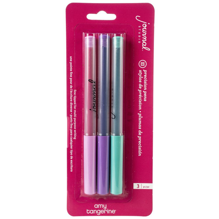American Crafts Amy Tangerine Journal Studio Precision Pens 3/Pkg