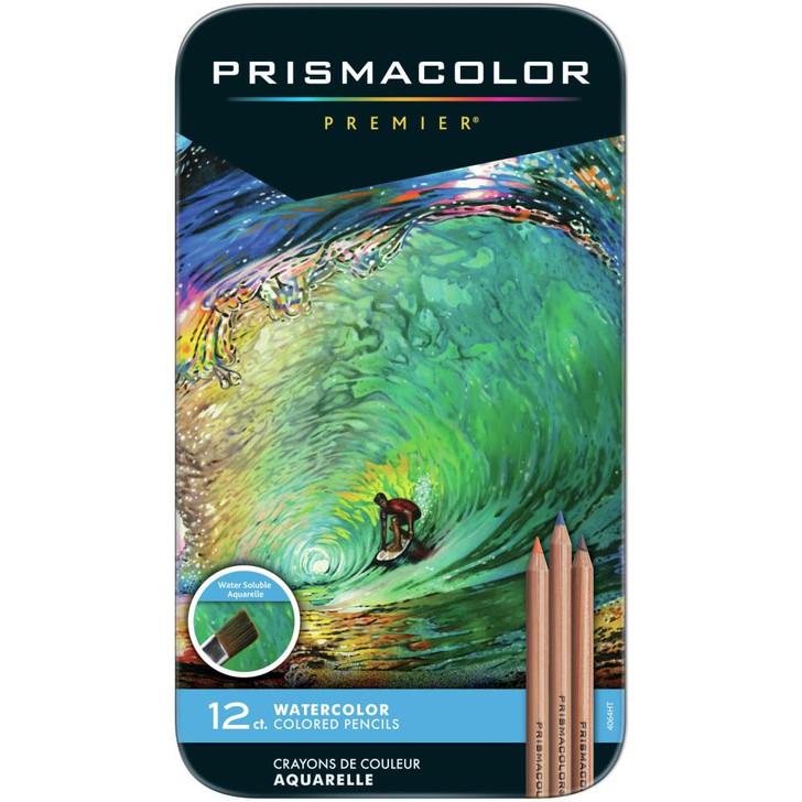 Prismacolor Premier Watercolor Pencils 12/Pkg