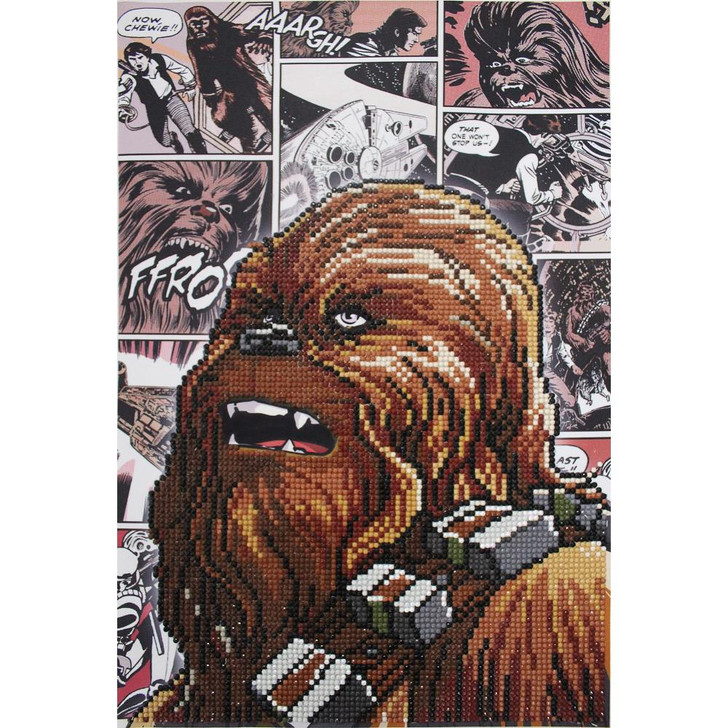 Camelot Dotz Star Wars - Chewbacca Diamond Facet Art Kit