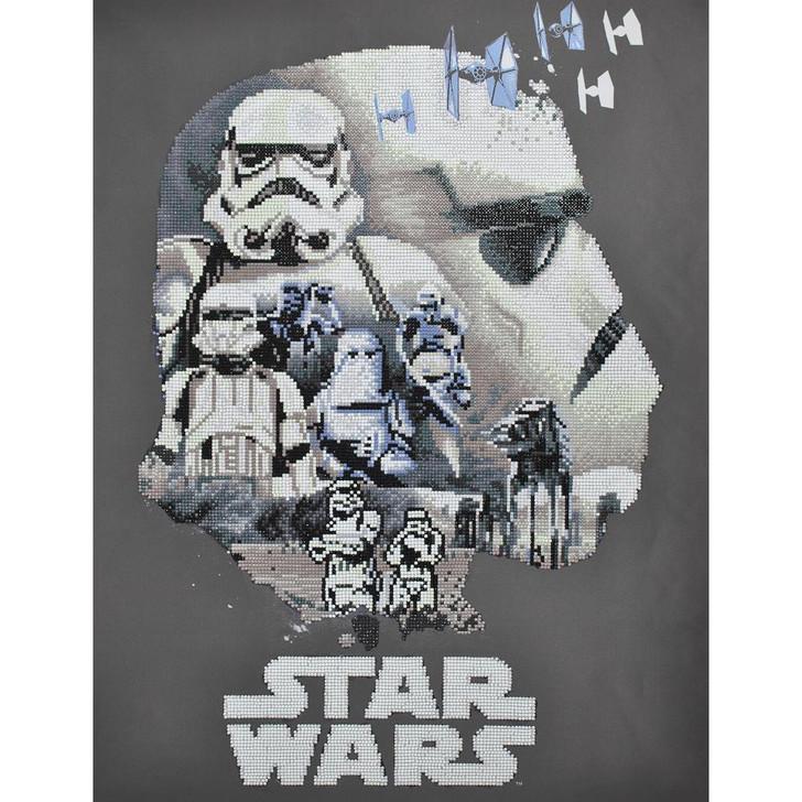 Camelot Dotz Star Wars - Stormtrooper Diamond Facet Art Kit
