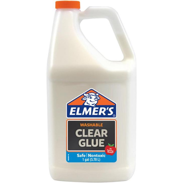 Elmer's Washable Clear School Glue 1 Gallon