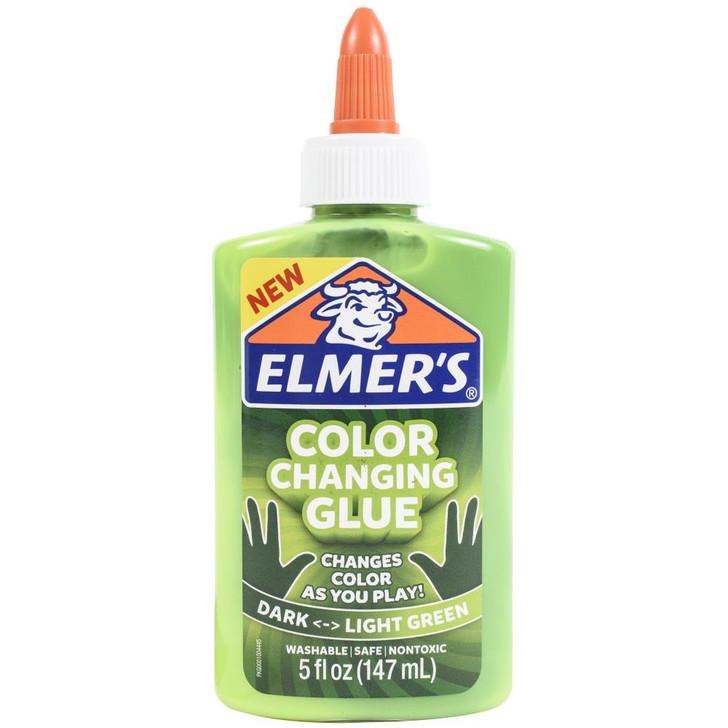 Elmer's Color Changing Dark/Light Green Glue 5oz