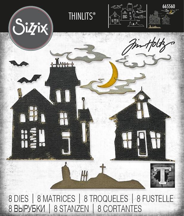 Sizzix Ghost Town #2 Dies By Tim Holtz
