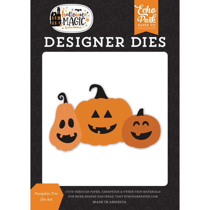 Echo Park Pumpkin Trio Halloween Magic Designer Dies