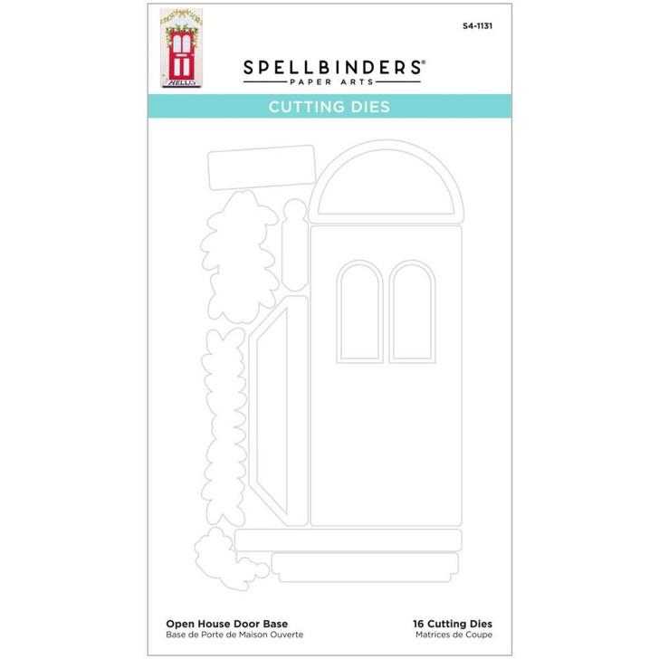 Spellbinders Open House Door Base Etched Dies