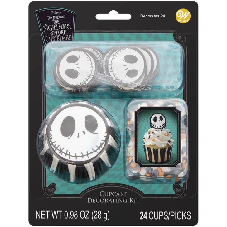 Wilton Nightmare Before Christmas Cupcake Decorating Kit 24/Pkg