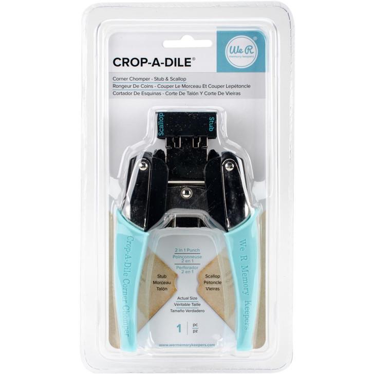 We R Memory Keepers Crop-A-Dile Stub & Scallop Corner Chomper Tool