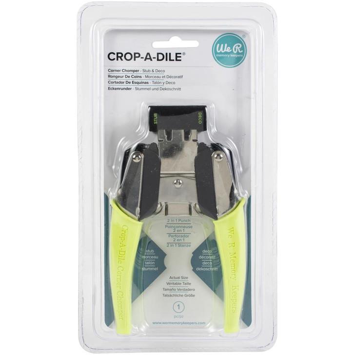We R Memory Keepers Crop-A-Dile Stub & Deco Corner Chomper Tool