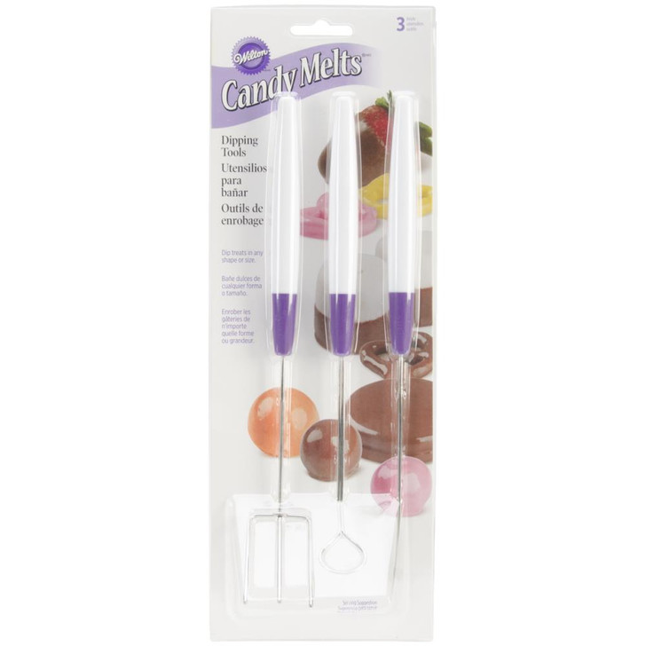 Wilton Candy Melts Dipping Tools 3/Pkg