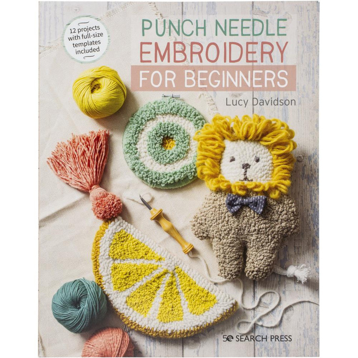 Search Press Books Punch Needle Embroidery For Beginners