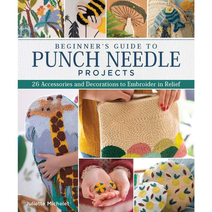 Landauer Publishing Beginner's Guide To Punch Needle Book