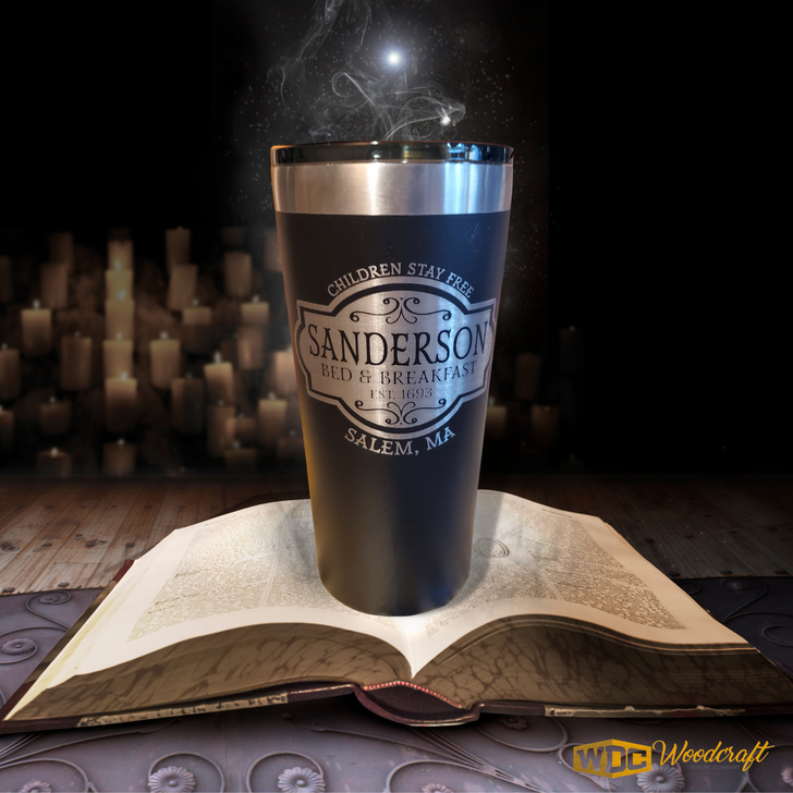 Sanderson Bed & Breakfast Laser Etched Double-Wall 20oz Tumbler