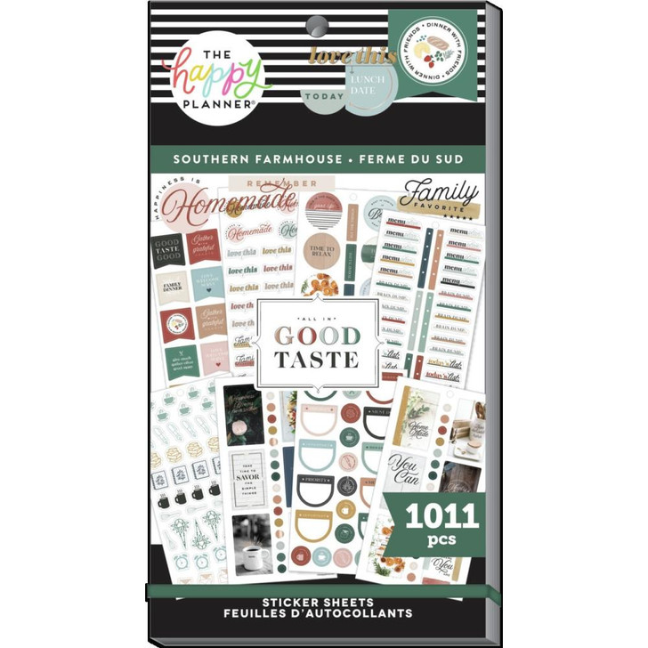 Happy Planner Southern Farmhouse Sticker Value Pack