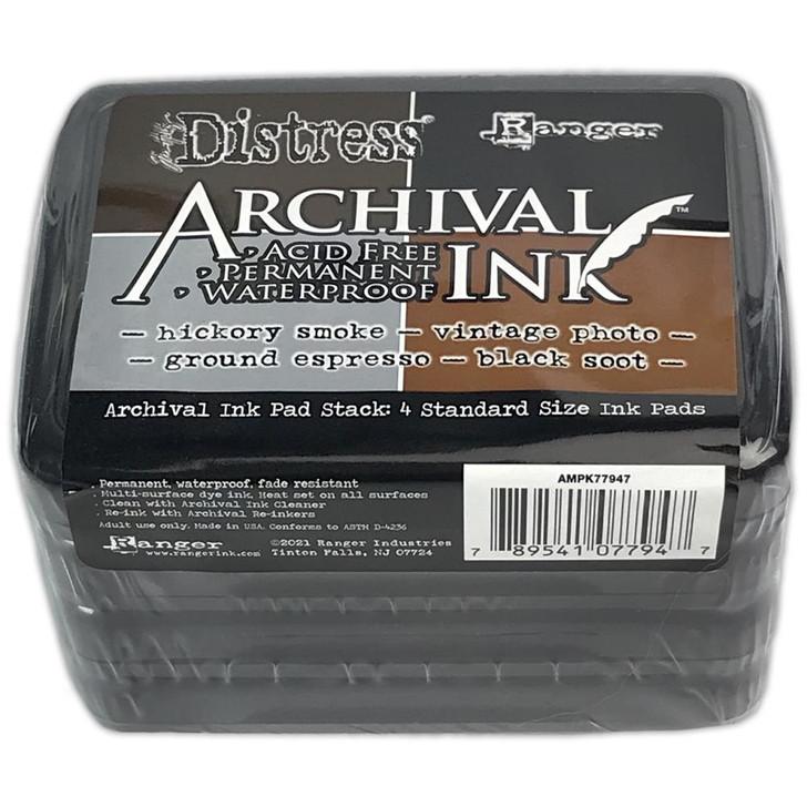 Ranger/Tim Holtz Distress Basics Archival Ink Pad Stack
