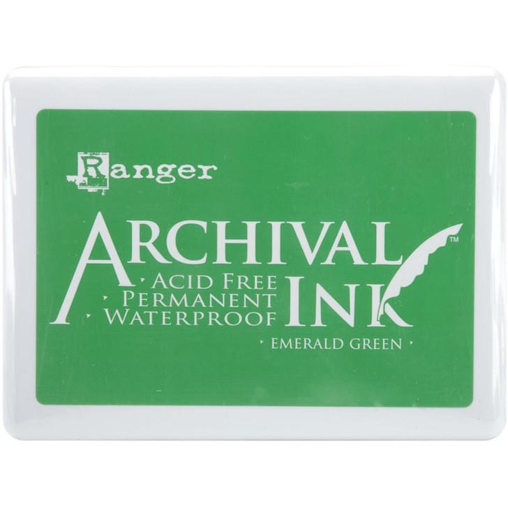 Ranger Emerald Green Archival Ink Jumbo Ink Pad