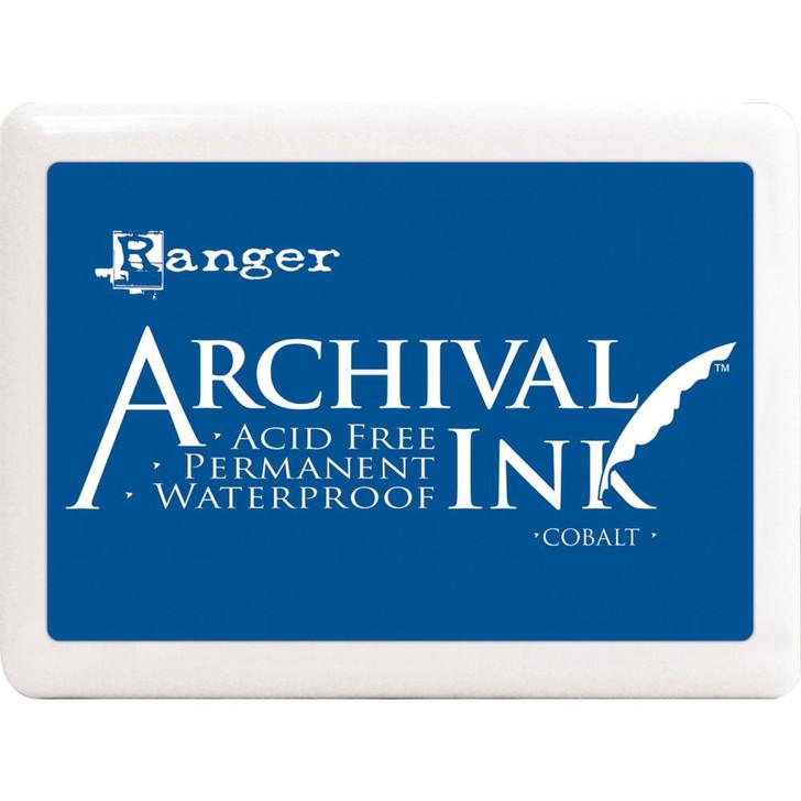 Ranger Cobalt Blue Archival Ink Jumbo Ink Pad