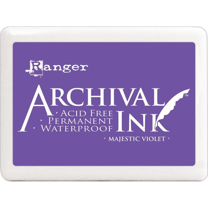 Ranger Majestic Violet Archival Ink Jumbo Ink Pad