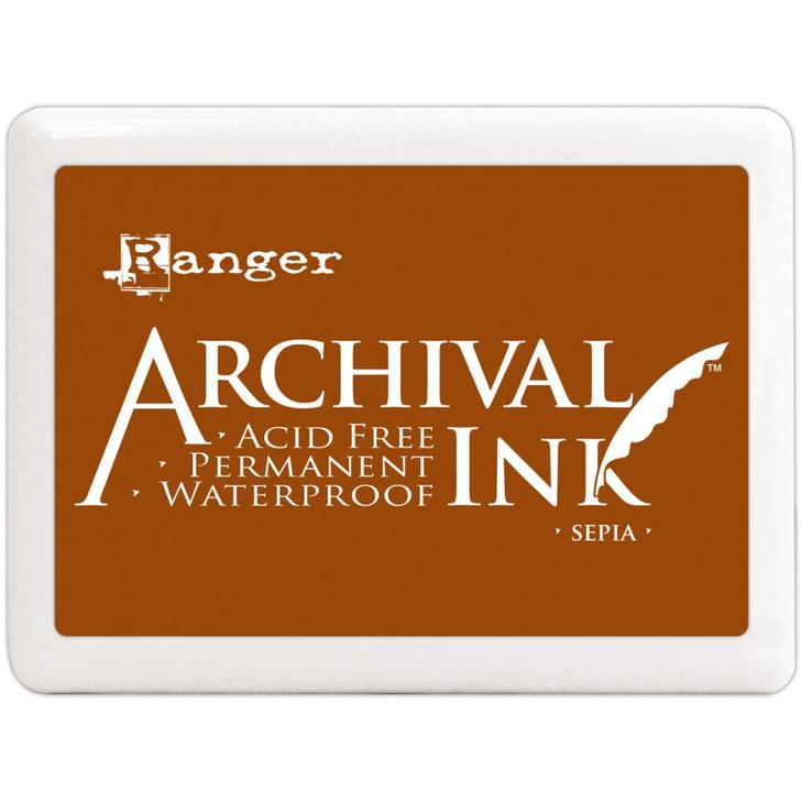 Ranger Sepia Archival Ink Jumbo Ink Pad