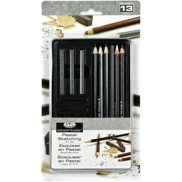 Royal Langnickel essentials Pastel Sketching Art Set