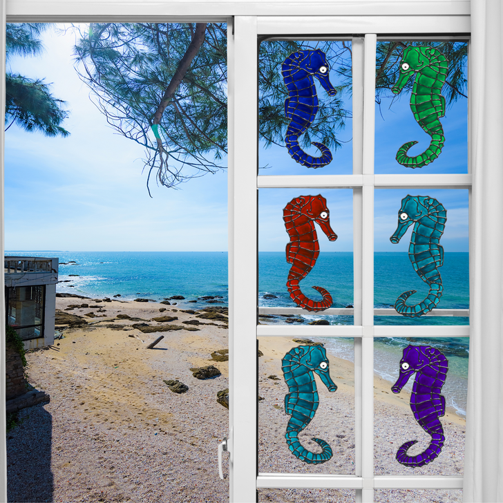 Seahorse Window Cling