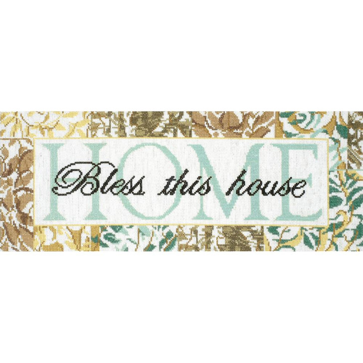Design Works Counted Cross Stitch Kit - Bless This House