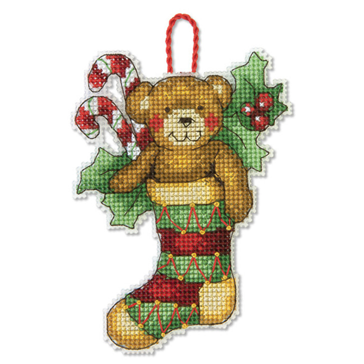 Dimensions Bear by Susan Winget Counted Cross Stitch Ornament Kit