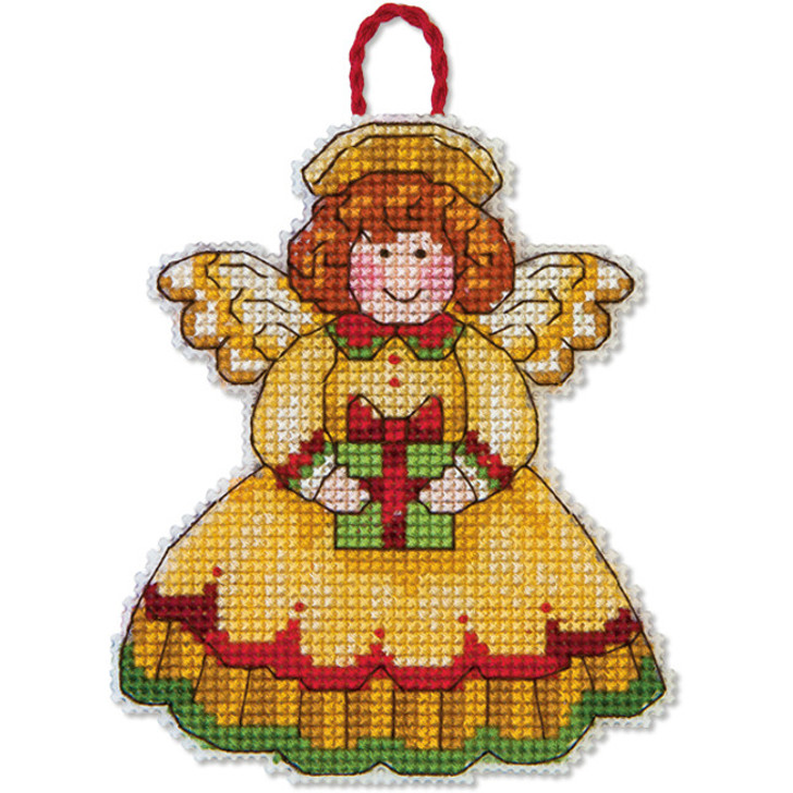 Dimensions Angel by Susan Winget Counted Cross Stitch Ornament Kit