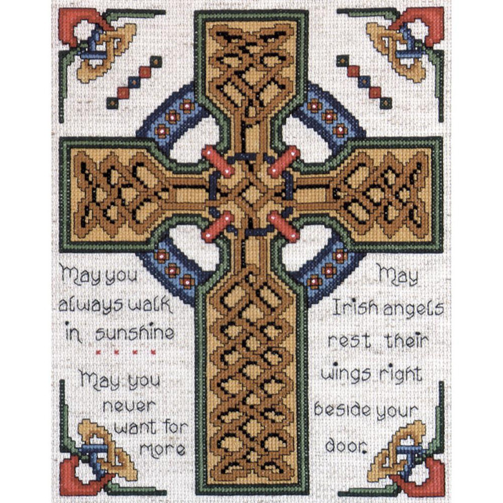 Design Works Counted Cross Stitch Kit - Celtic Cross