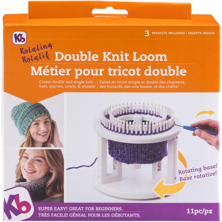 Knitting Board Rotating Double Knit Loom